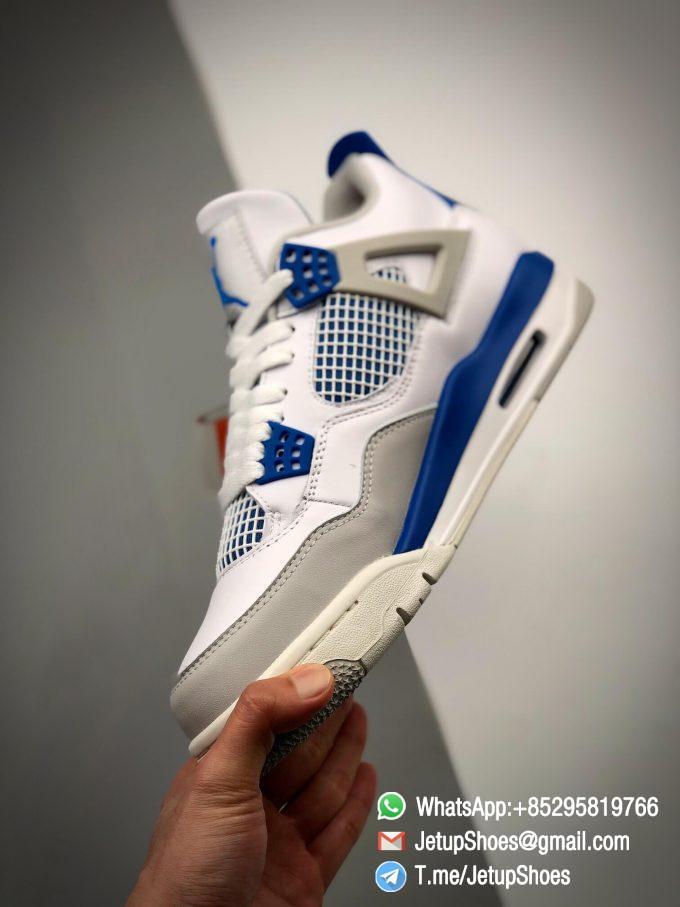 Best Replica Jordan 4 Retro Military Blue 2012 Sneakers 308497 105 04