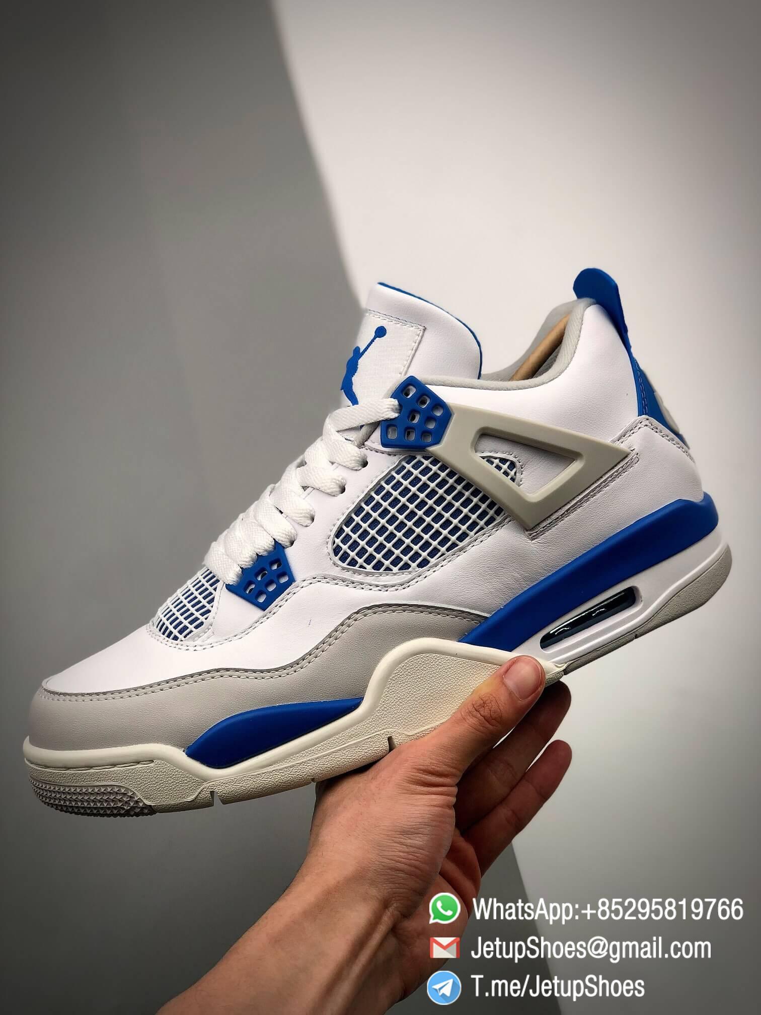 Best Replica Jordan 4 Retro Military Blue 2012 Sneakers 308497 105 07