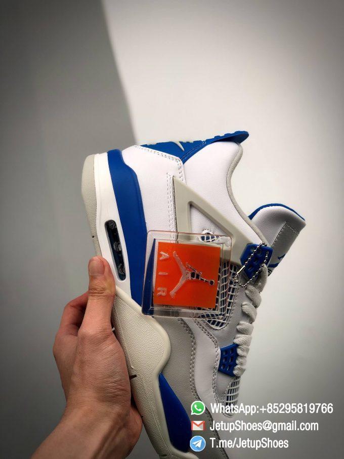 Best Replica Jordan 4 Retro Military Blue 2012 Sneakers 308497 105 10