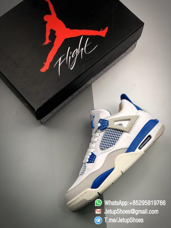 Best Replica Jordan 4 Retro Military Blue 2012 Sneakers 308497 105 11