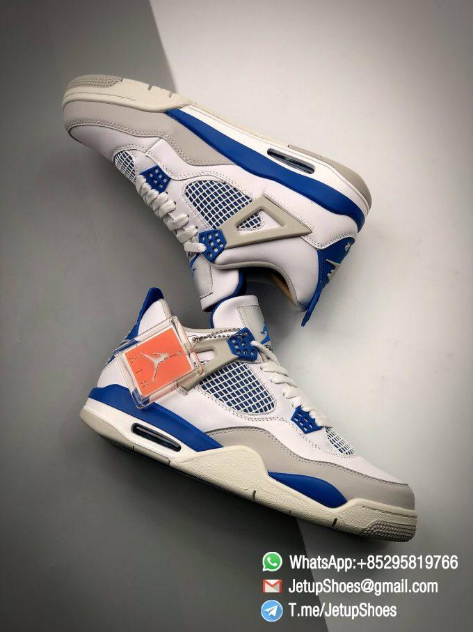 Best Replica Jordan 4 Retro Military Blue 2012 Sneakers 308497 105 12