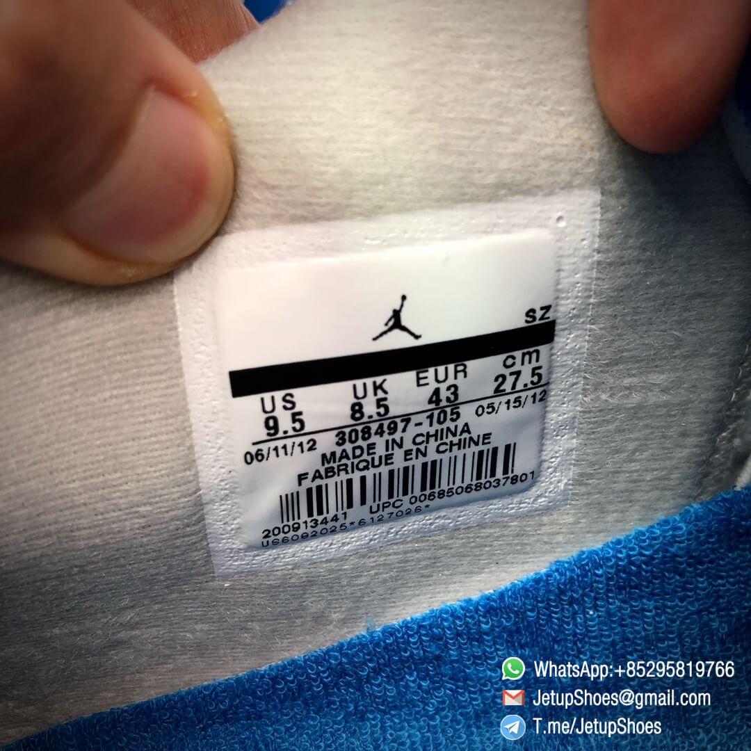 Best Replica Jordan 4 Retro Military Blue 2012 Sneakers 308497 105 19