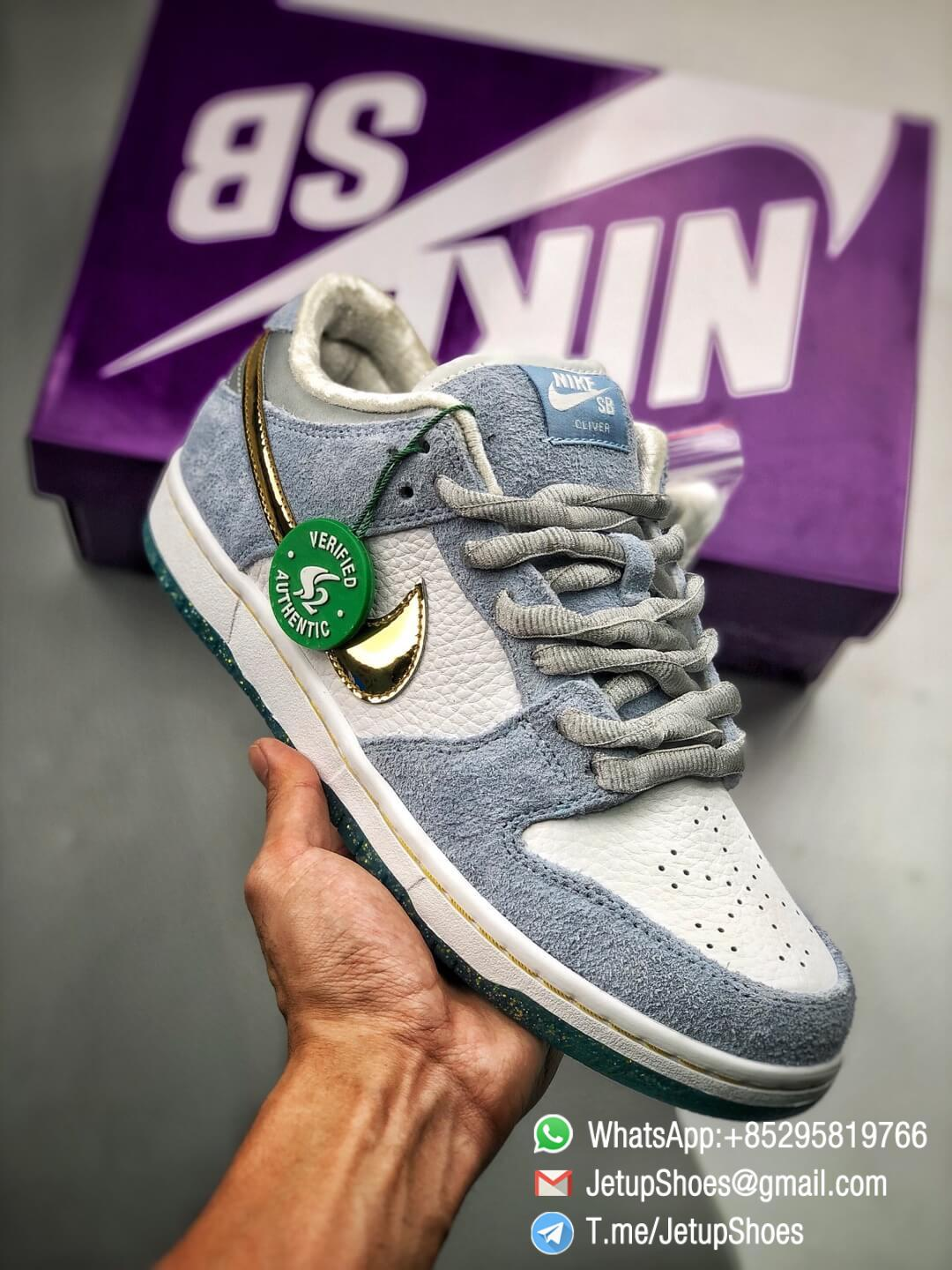 Best Replica Sneakers Sean Cliver x Nike Dunk Low SB Holiday Special DC9936 100 01