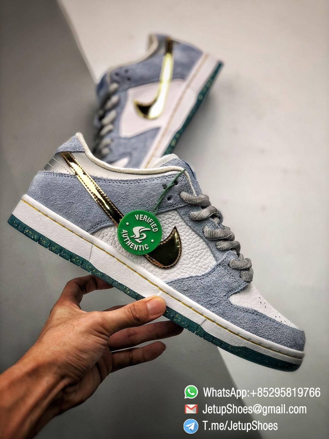 Best Replica Sneakers Sean Cliver x Nike Dunk Low SB Holiday Special DC9936 100 02