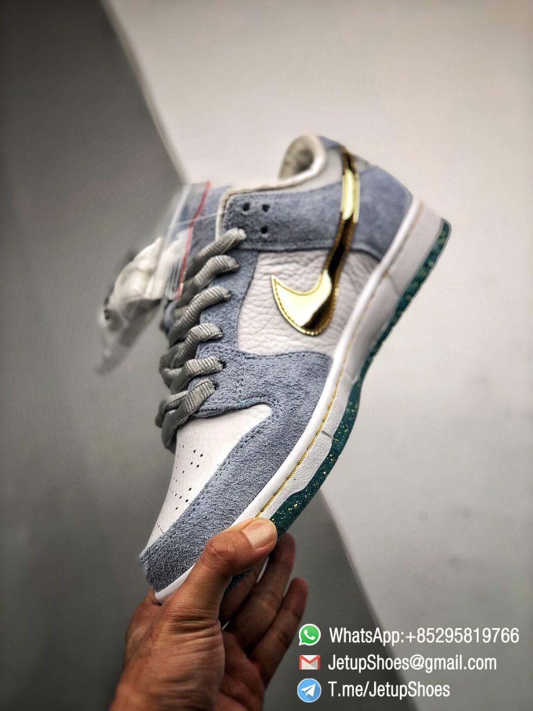 Best Replica Sneakers Sean Cliver x Nike Dunk Low SB Holiday Special DC9936 100 03