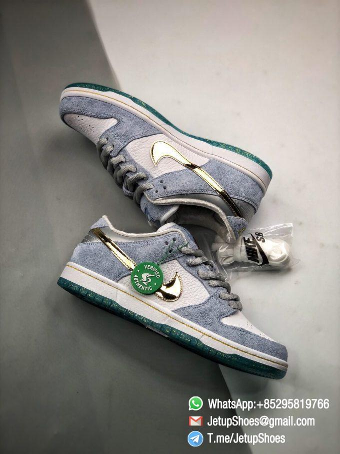 Best Replica Sneakers Sean Cliver x Nike Dunk Low SB Holiday Special DC9936 100 08