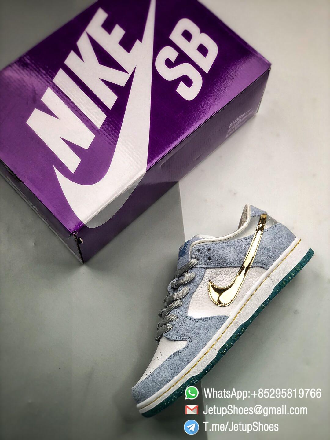 Best Replica Sneakers Sean Cliver x Nike Dunk Low SB Holiday Special DC9936 100 09