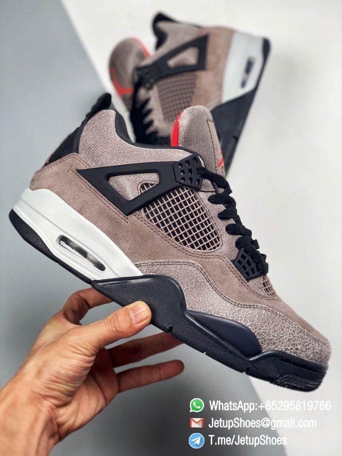 Repsneakers Air Jordan 4 Retro Taupe Haze DB0732 200 Best Replica Sneakers 02