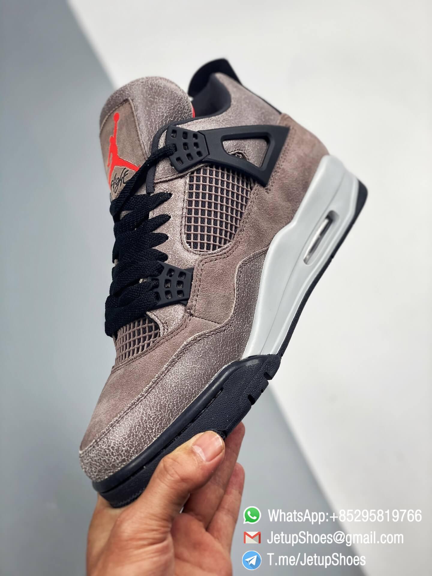 Repsneakers Air Jordan 4 Retro Taupe Haze DB0732 200 Best Replica Sneakers 03