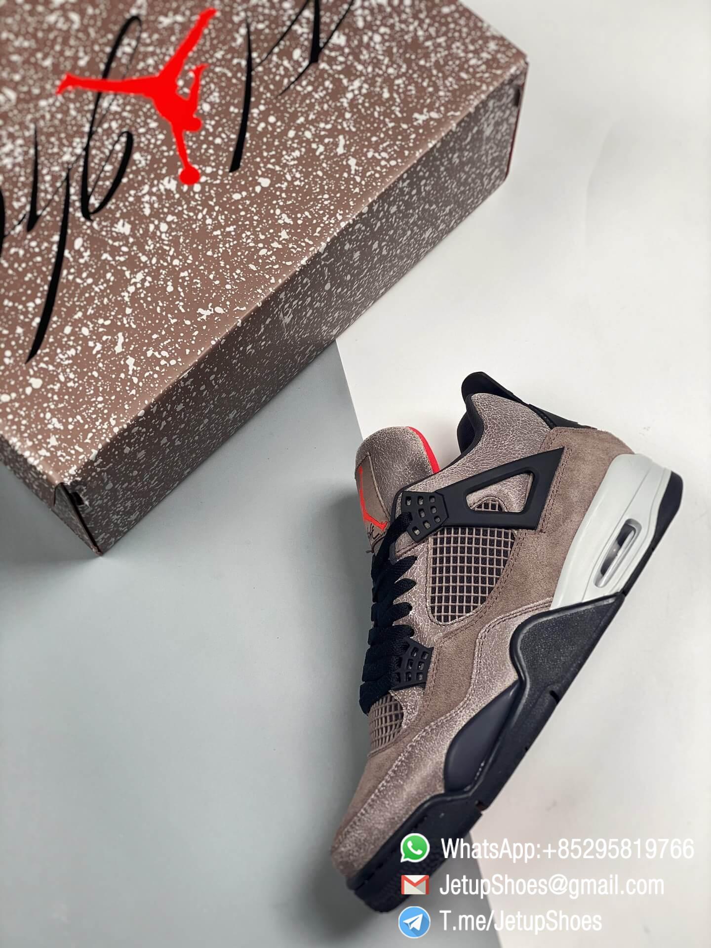 Repsneakers Air Jordan 4 Retro Taupe Haze DB0732 200 Best Replica Sneakers 09