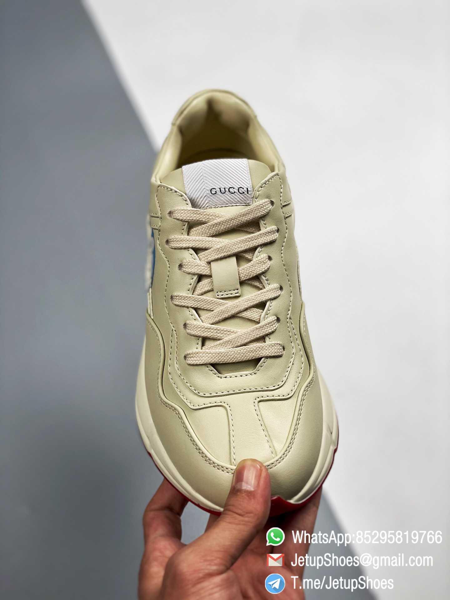 Doraemon x Gucci womens Rhyton Sneaker Special Collaboration Sneakers SKU 655037 DRW00 9522 03