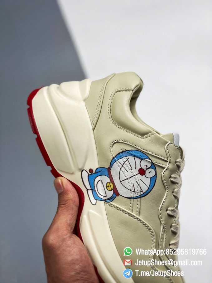 Doraemon x Gucci womens Rhyton Sneaker Special Collaboration Sneakers SKU 655037 DRW00 9522 05