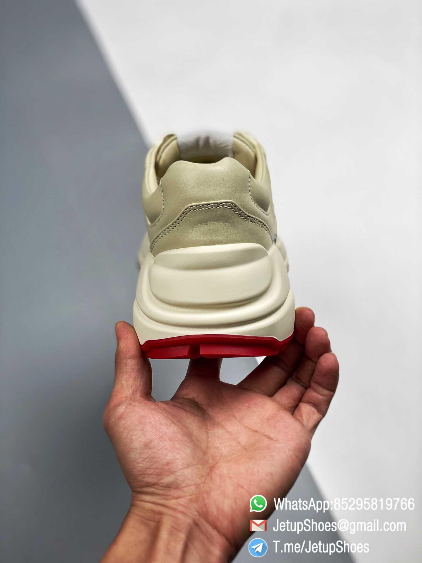 Doraemon x Gucci womens Rhyton Sneaker Special Collaboration Sneakers SKU 655037 DRW00 9522 06