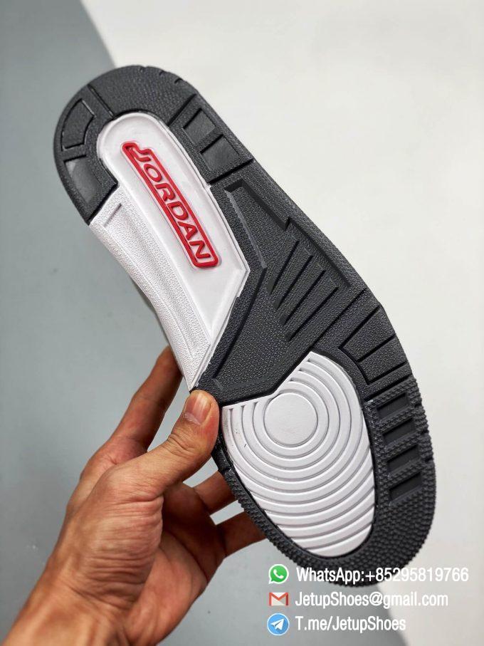 RepSneakers Air Jordan 3 Retro Cool Grey SKU CT8532 012 Grey Leather Upper Best Replica Sneakers 06
