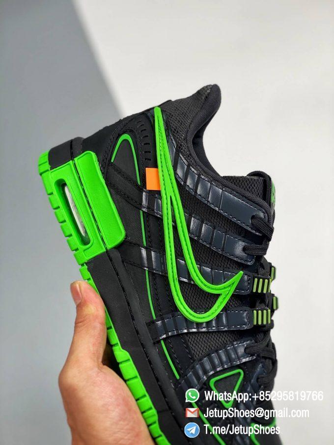 RepSneakers,Off-White,Air Rubber Dunk,Green Strike, CU6015 001,Best Replica Sneakers,Best SNKRS