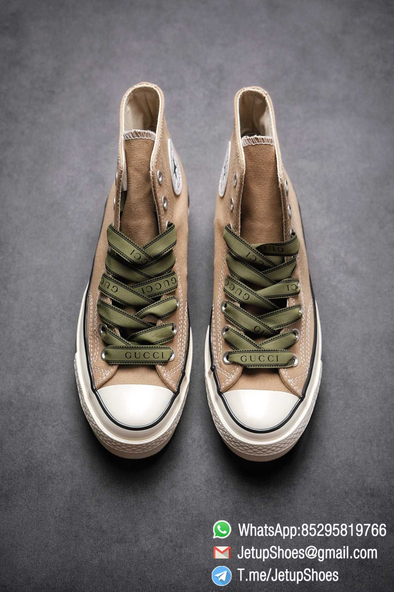 Womens Converse 1970S Special Collaboration Sneaker High Top Trainer Sneakers Vintage Inspired Green Shoelace Black Upper 2021 Spring 02