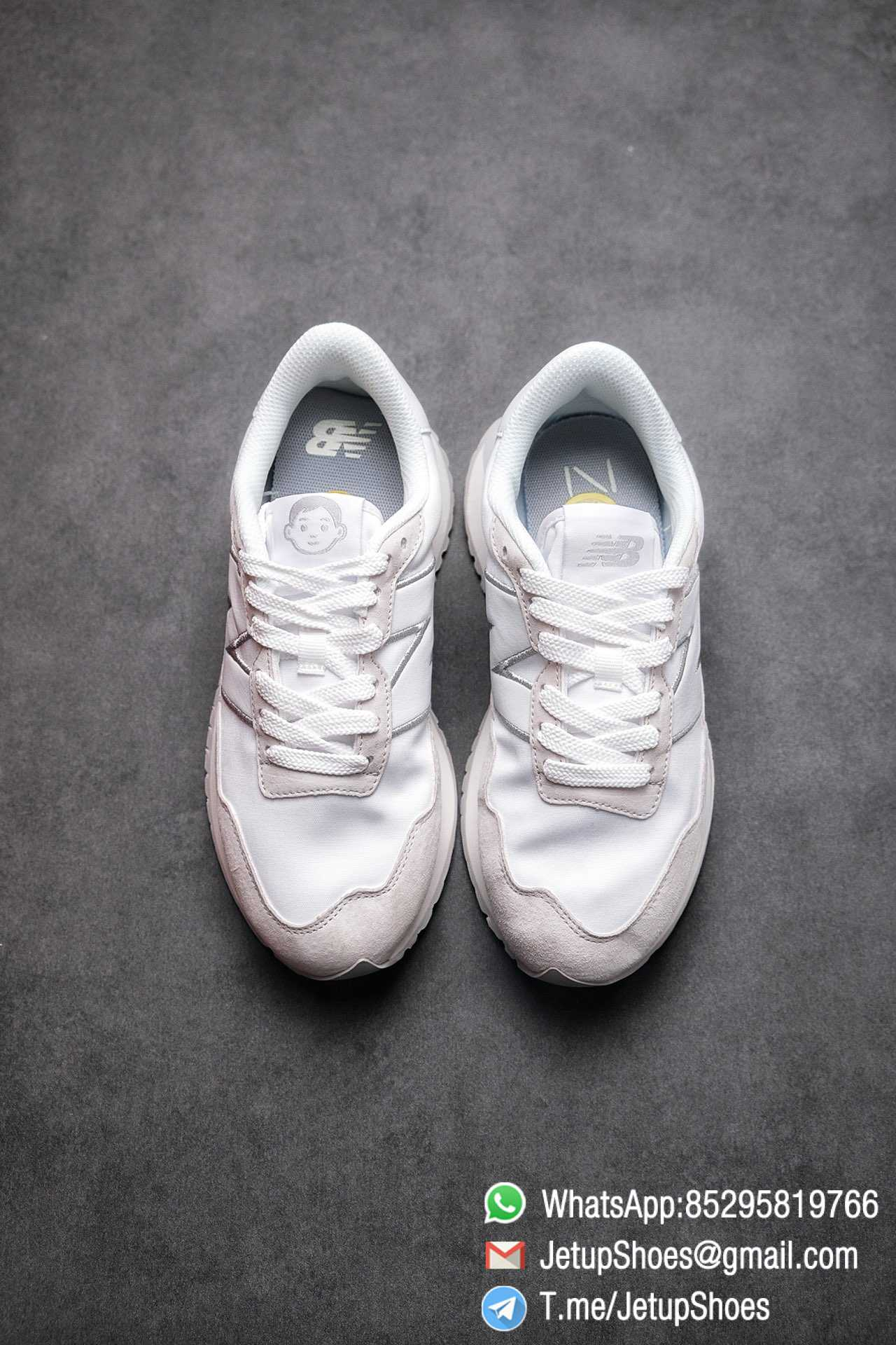 Best Replica 2021 New Balance 237 White Light Grey SKU MS237NW1 High Quality Running Sneakers 02