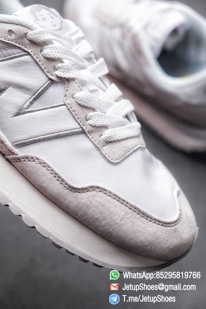 Best Replica 2021 New Balance 237 White Light Grey SKU MS237NW1 High Quality Running Sneakers 05