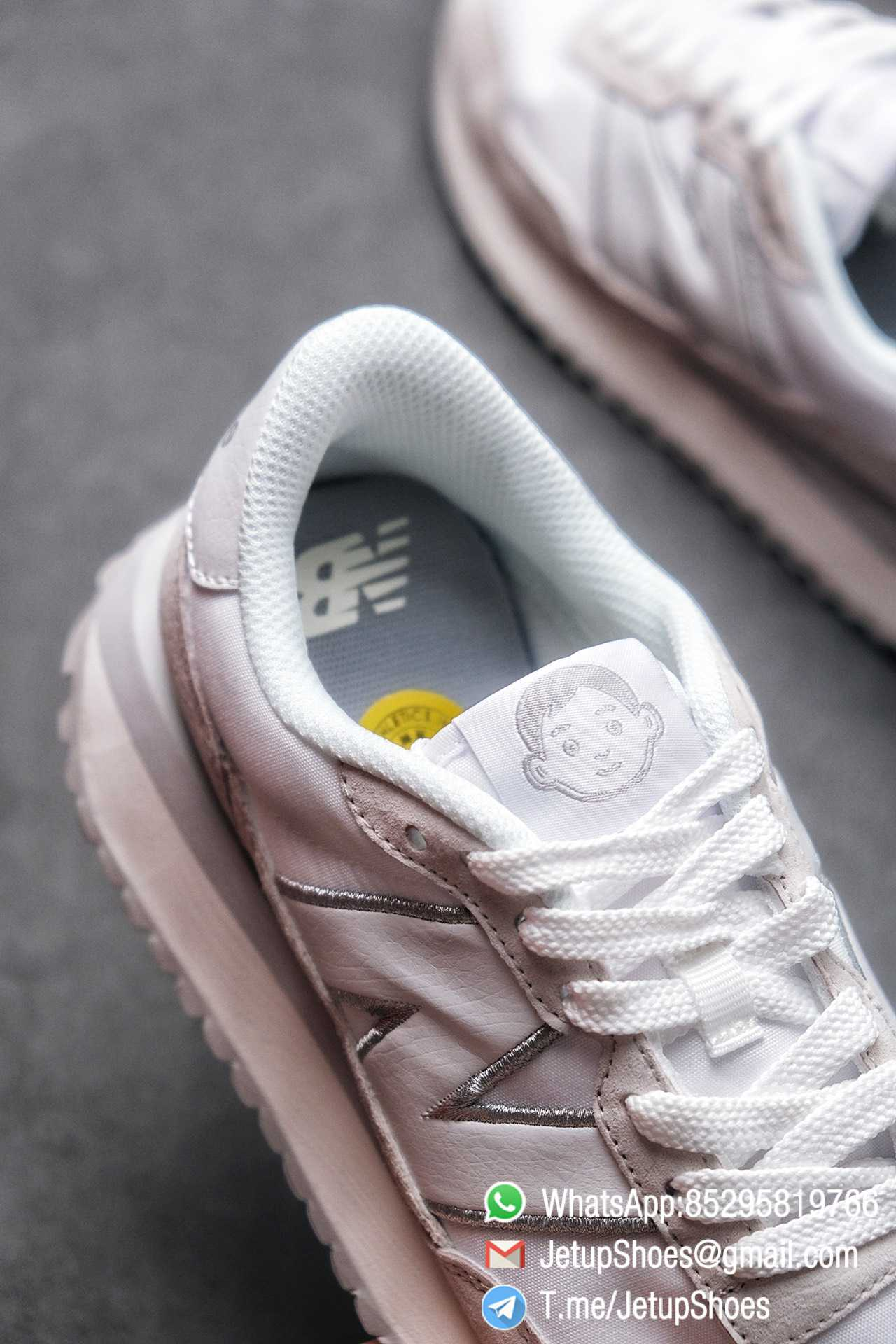 Best Replica 2021 New Balance 237 White Light Grey SKU MS237NW1 High Quality Running Sneakers 06