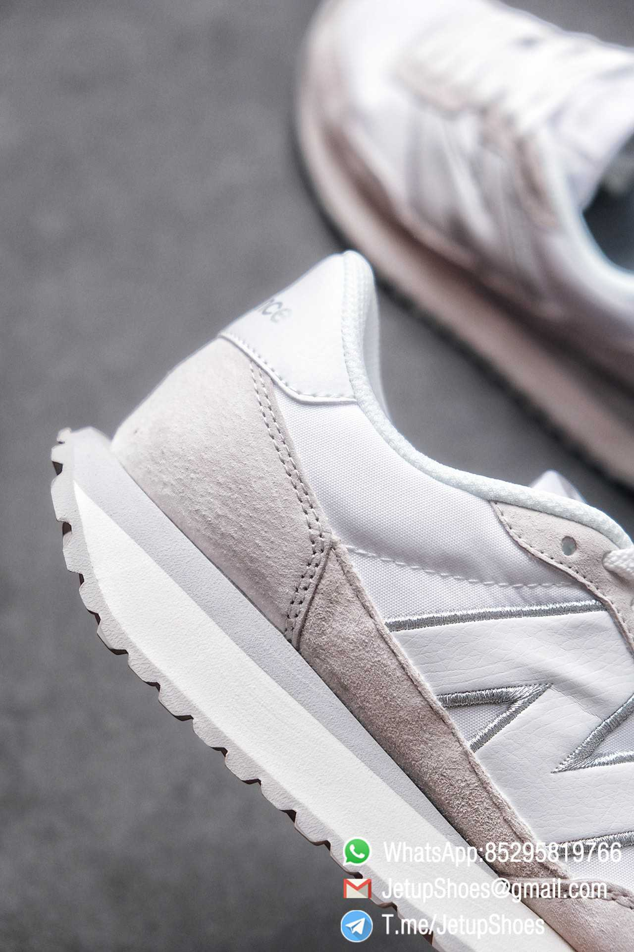 Best Replica 2021 New Balance 237 White Light Grey SKU MS237NW1 High Quality Running Sneakers 07