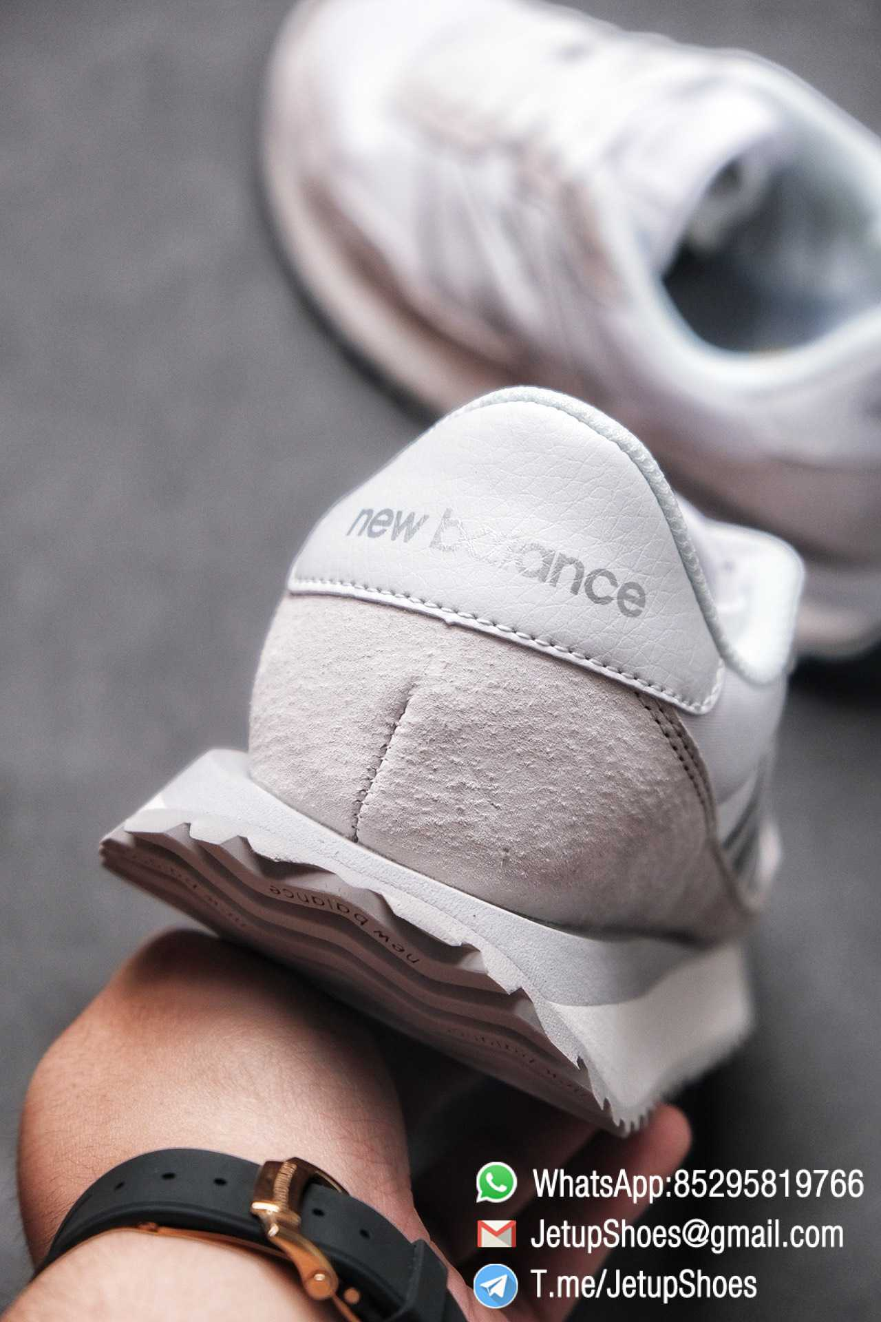 Best Replica 2021 New Balance 237 White Light Grey SKU MS237NW1 High Quality Running Sneakers 08