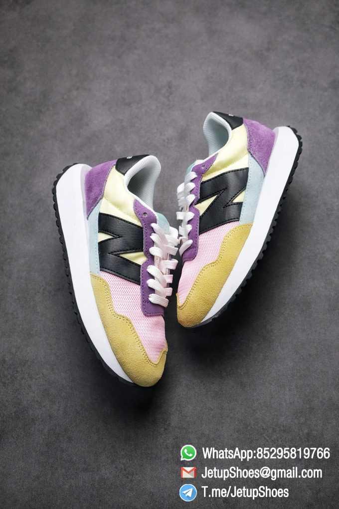 Best Replica 2021 New Balance 237 Yellow Purple Pink SKU MS237LB3 High Quality Running Shoes 03
