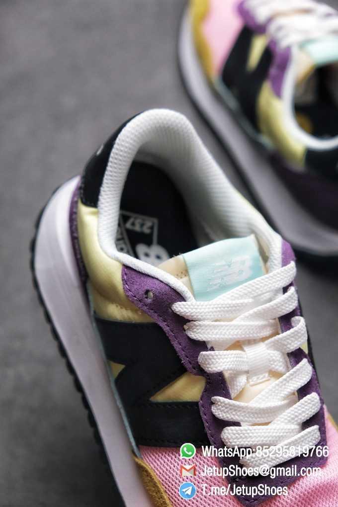 Best Replica 2021 New Balance 237 Yellow Purple Pink SKU MS237LB3 High Quality Running Shoes 06