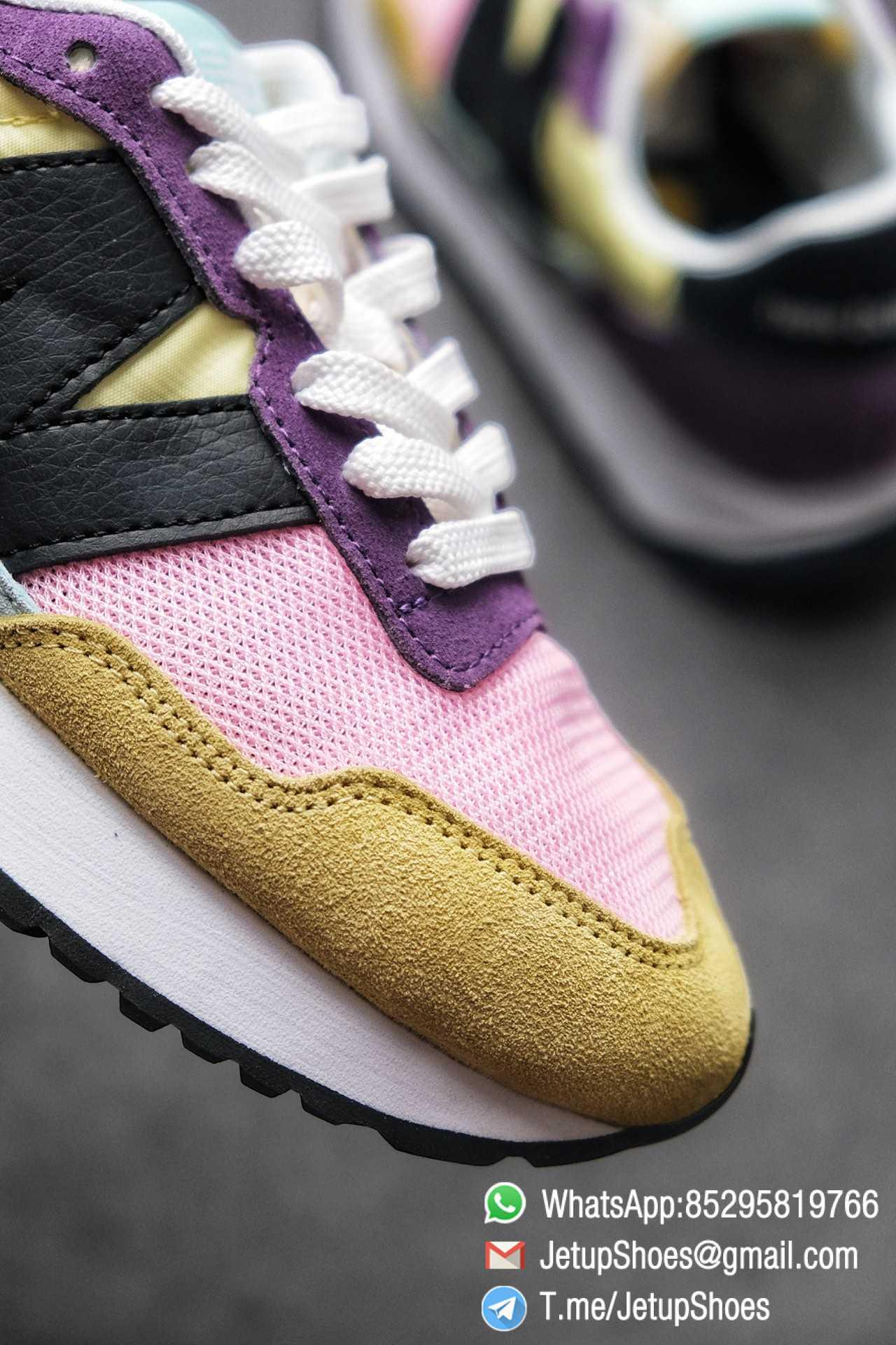 Best Replica 2021 New Balance 237 Yellow Purple Pink SKU MS237LB3 High Quality Running Shoes 07