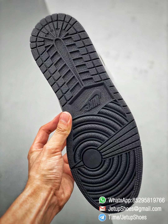 Best Replica Air Jordan 1 Retro High OG Shadow 2.0 Black Leather Upper Grey Suede Overlays RepSnkrs 08