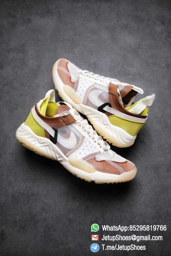 Best Replica Air Jordan Delta SP Sail Brown Light Green Running Shoes CW0783 104 Top Quality Sneakers Store 01