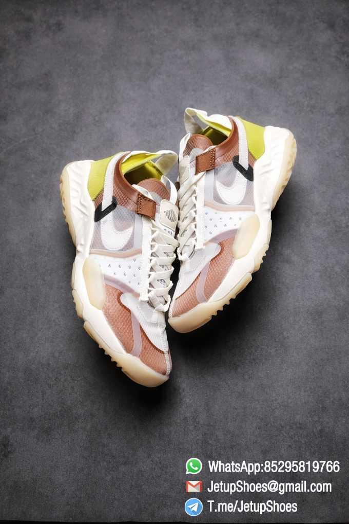 Best Replica Air Jordan Delta SP Sail Brown Light Green Running Shoes CW0783 104 Top Quality Sneakers Store 03