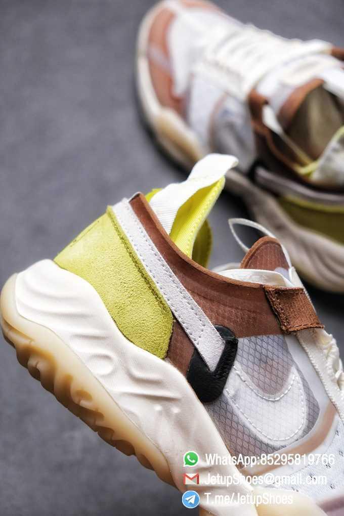 Best Replica Air Jordan Delta SP Sail Brown Light Green Running Shoes CW0783 104 Top Quality Sneakers Store 05