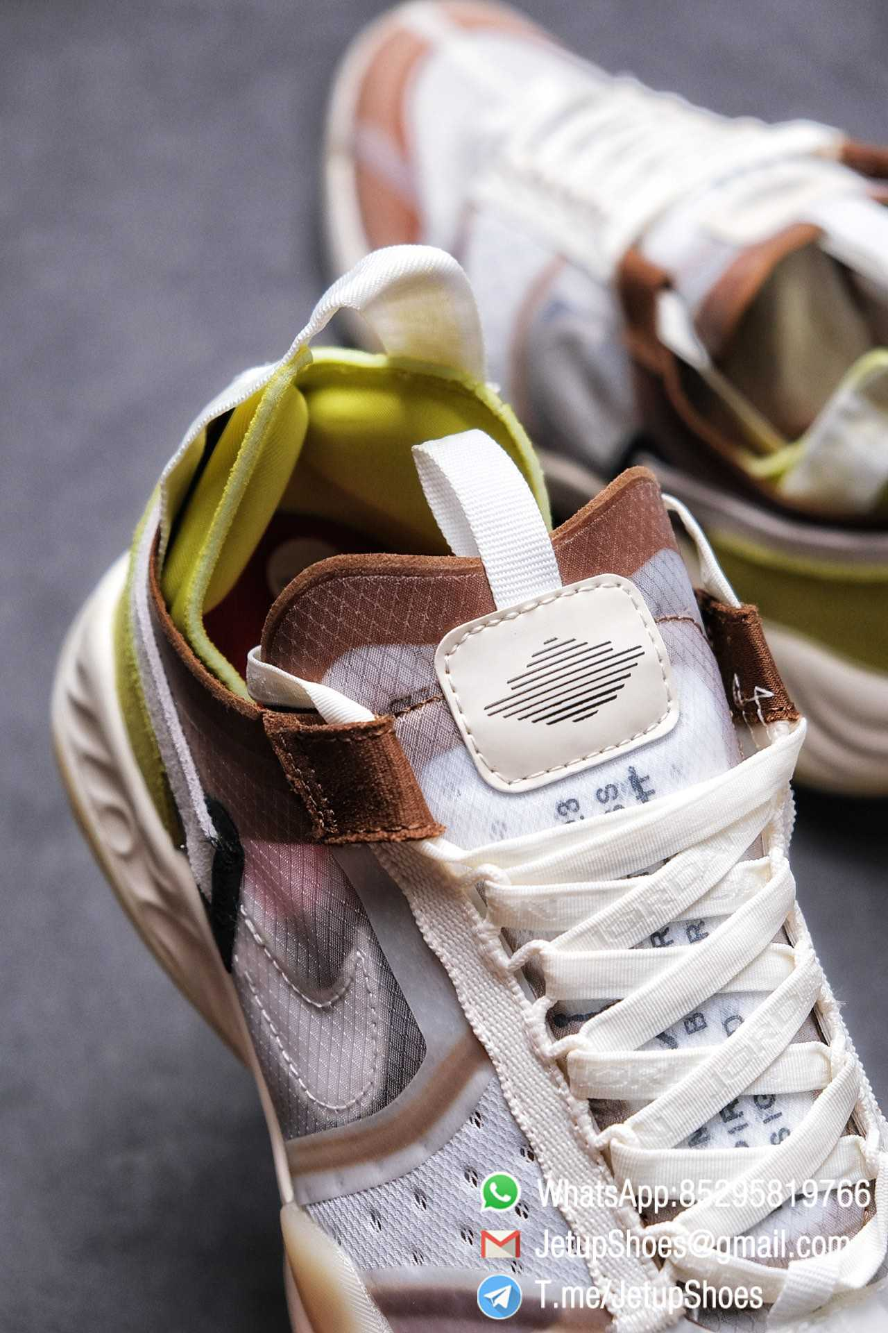 Best Replica Air Jordan Delta SP Sail Brown Light Green Running Shoes CW0783 104 Top Quality Sneakers Store 07