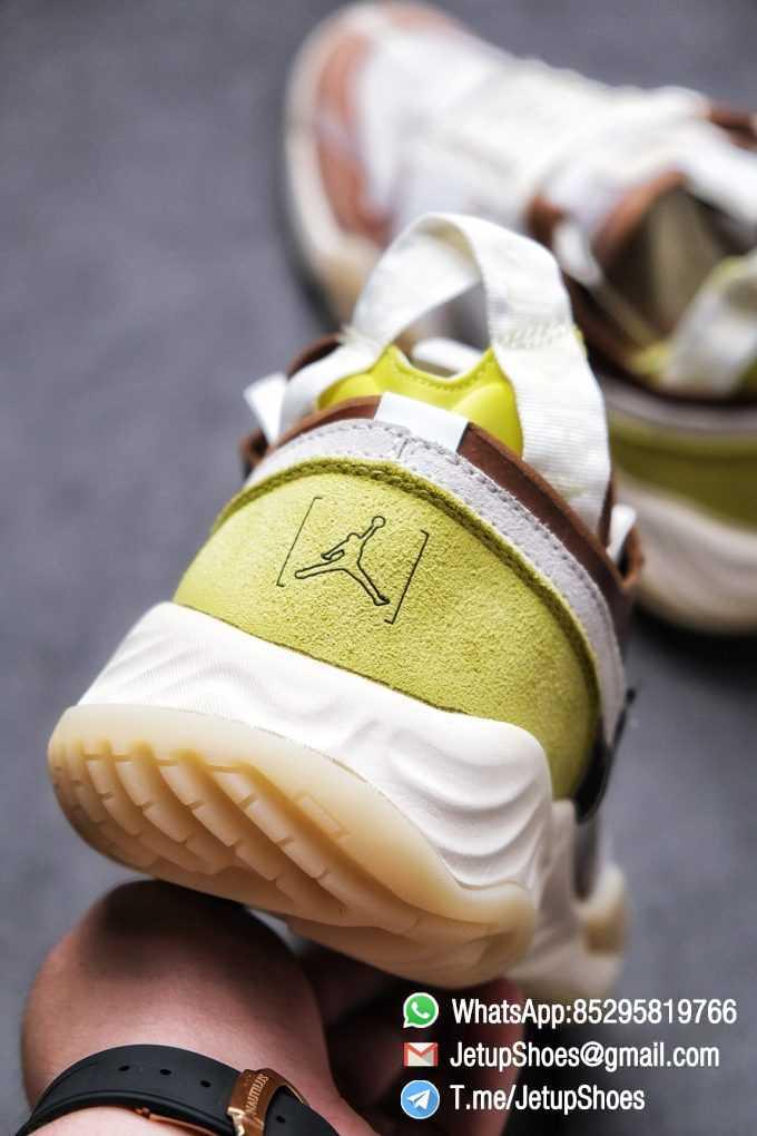 Best Replica Air Jordan Delta SP Sail Brown Light Green Running Shoes CW0783 104 Top Quality Sneakers Store 08
