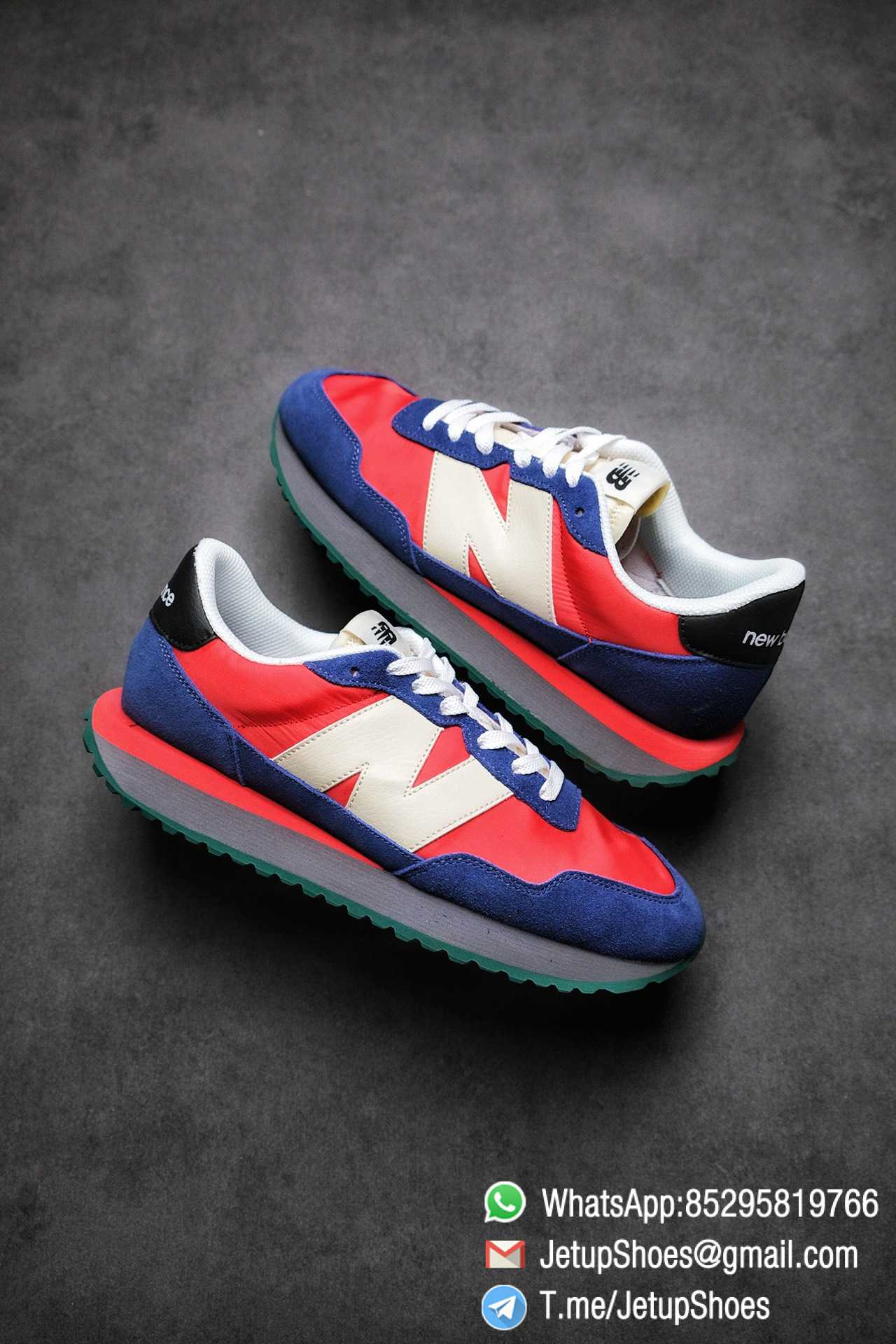 Best Replica New Balance 237 Blue Red SKU MS237LA2 High Quality Fake Sneakers 01 1