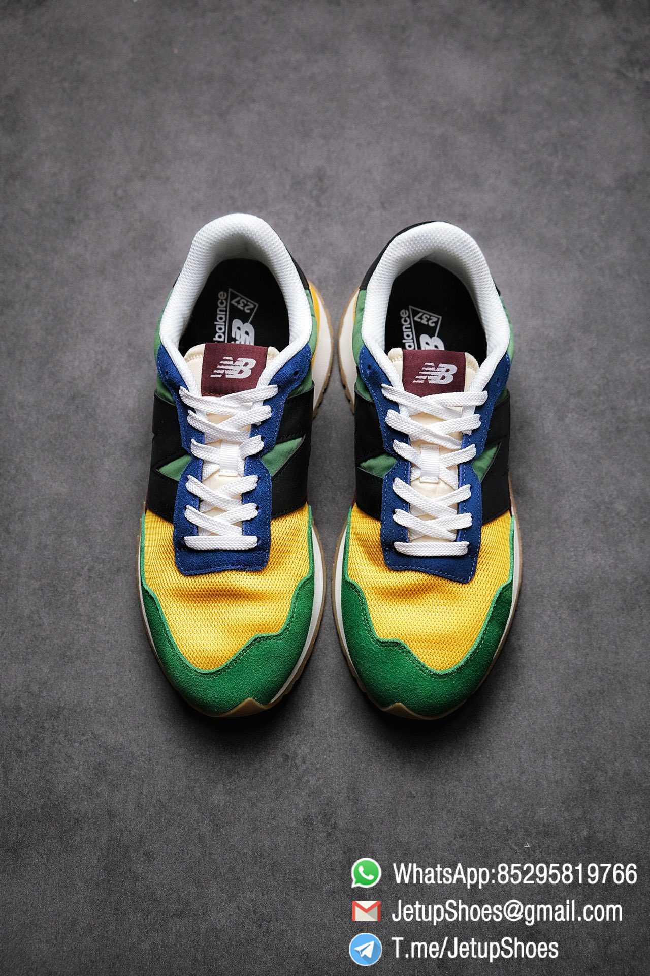 Best Replica New Balance 237 Green Blue Yellow Multi Color SKU MS237LB1 High Quality Fake Running Shoes 02