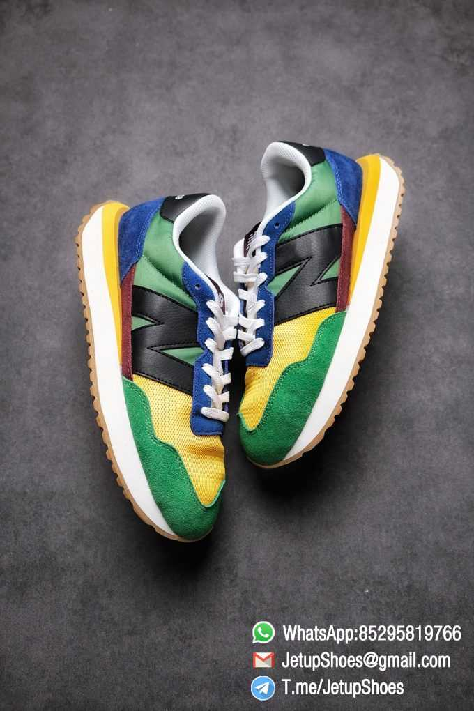 Best Replica New Balance 237 Green Blue Yellow Multi Color SKU MS237LB1 High Quality Fake Running Shoes 03