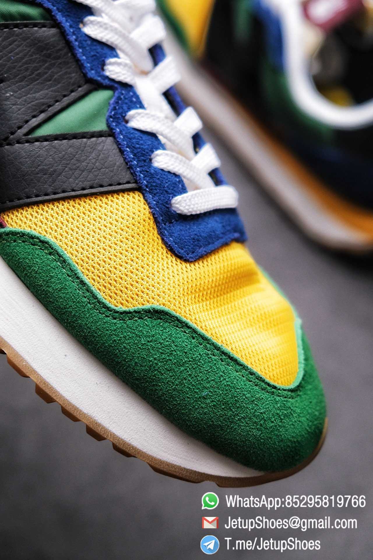 Best Replica New Balance 237 Green Blue Yellow Multi Color SKU MS237LB1 High Quality Fake Running Shoes 06