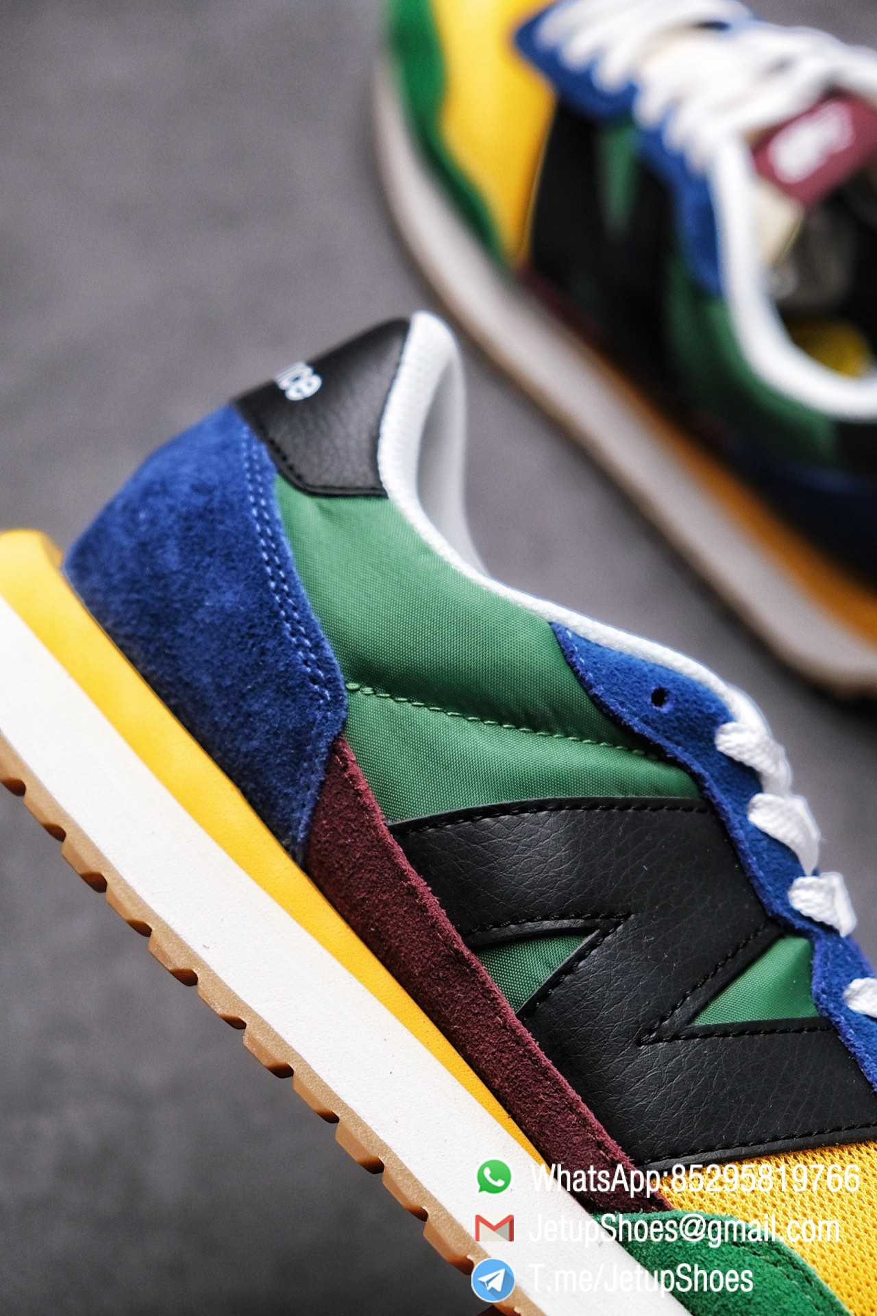Best Replica New Balance 237 Green Blue Yellow Multi Color SKU MS237LB1 High Quality Fake Running Shoes 07