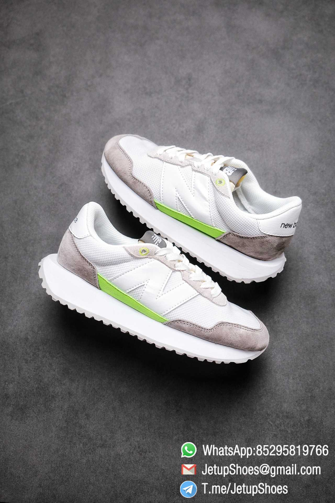 Best Replica New Balance 237 Niko x 237 Grey Green SKU MS237SL1 High Quality Fake Sneakers 01