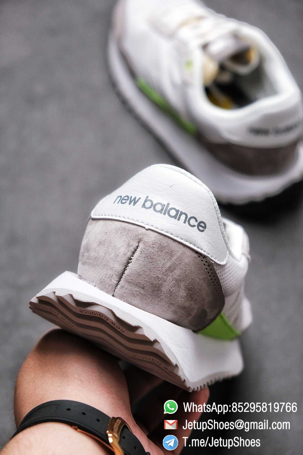 Best Replica New Balance 237 Niko x 237 Grey Green SKU MS237SL1 High Quality Fake Sneakers 08