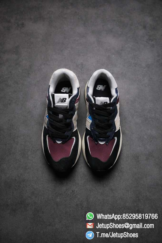 Best Replica New Balance 57 40 Navy Burgundy SKU M5740TB Navy And Burgundy Panels Appear Top Quality 02