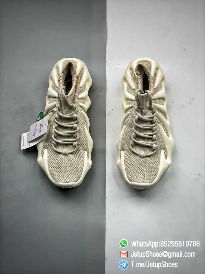 Best Replica adidas Yeezy 450 Cloud White Sneakers S2 Pure RepSneakers Top Quality Snkrs 08