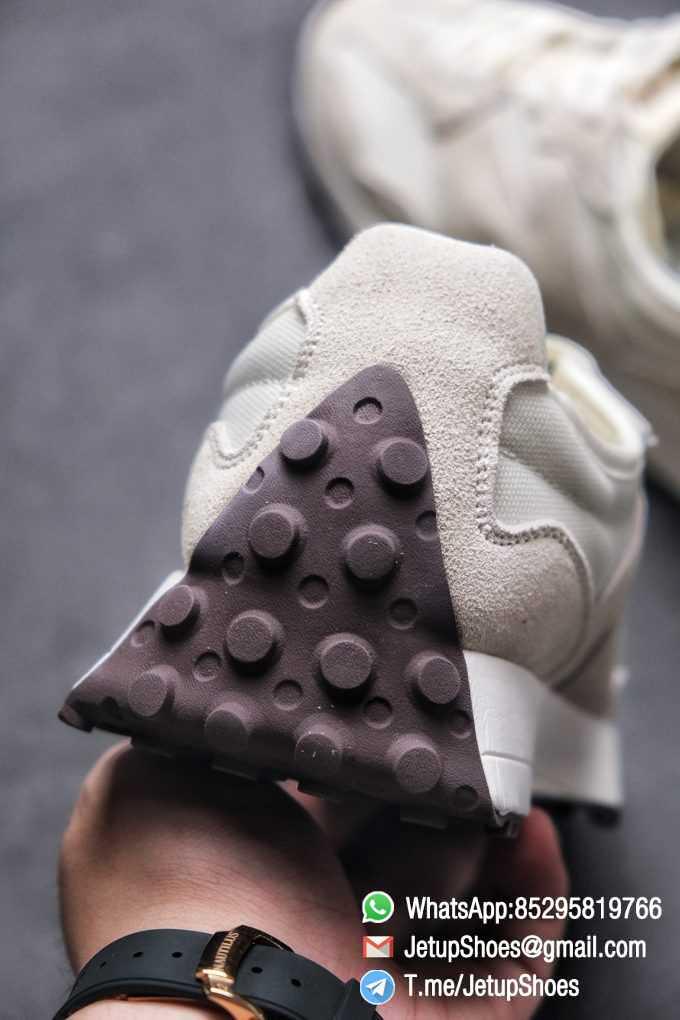 Replica Sneakers New Balance 327 Noritake x 327 Light Grey White Mesh Quarter Suede Upper Retro Running Shoes SKU WS327FB 08