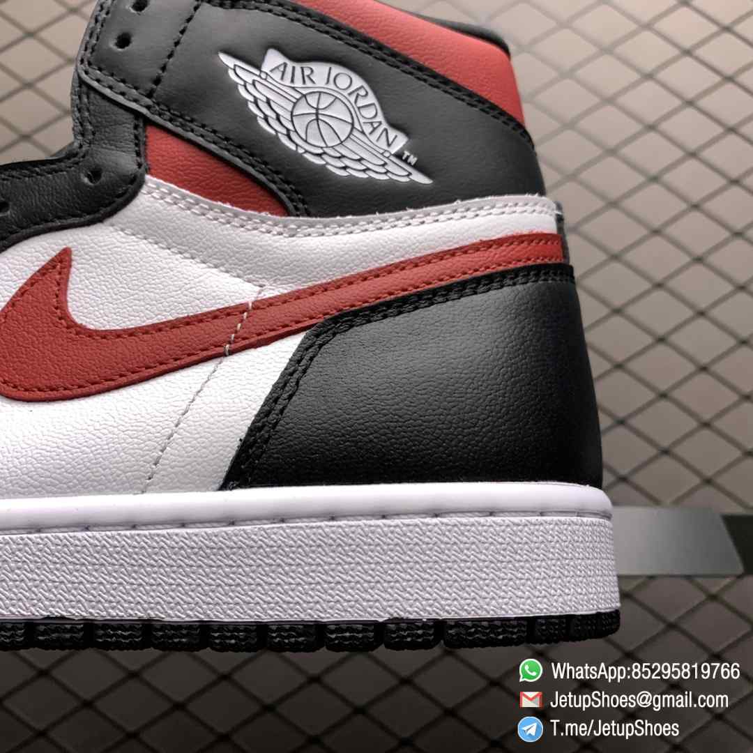 Air Jordan 1 Retro High OG Gym Red SKU 555088 061 Remixes Iconic Color Scheme Upper Best Replica Support Sneakers 04