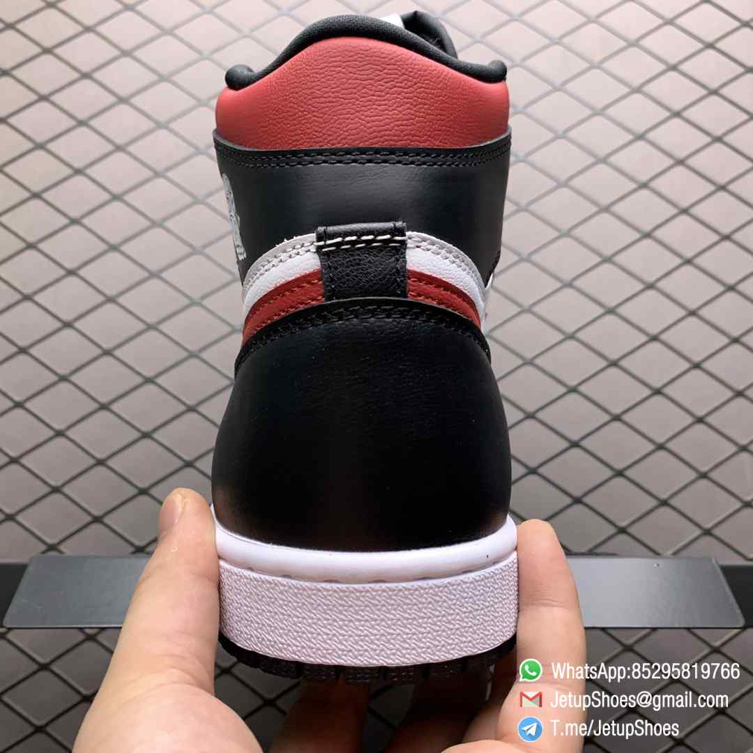 Air Jordan 1 Retro High OG Gym Red SKU 555088 061 Remixes Iconic Color Scheme Upper Best Replica Support Sneakers 06