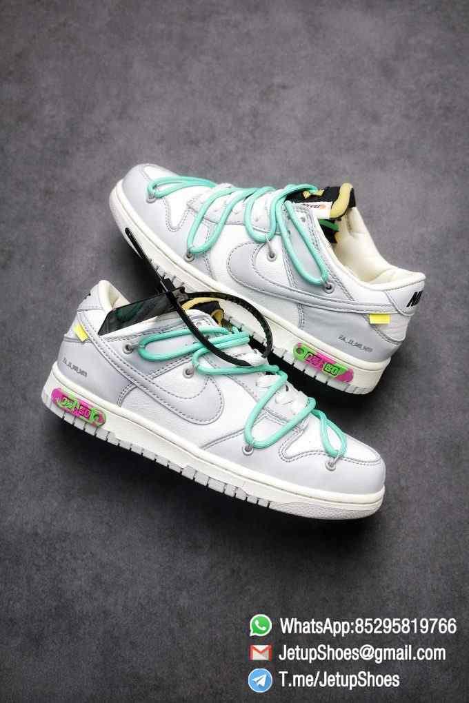 Best Replica Nike Sneakers 0ff White x Nike Dunk Low 04 of 50 SKU DM1602 114 Top RepSneakers Supplier 01