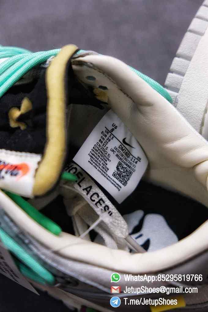 Best Replica Nike Sneakers 0ff White x Nike Dunk Low 04 of 50 SKU DM1602 114 Top RepSneakers Supplier 012