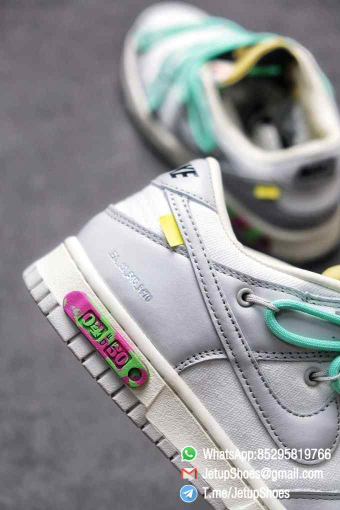 Best Replica Nike Sneakers 0ff White x Nike Dunk Low 04 of 50 SKU DM1602 114 Top RepSneakers Supplier 015