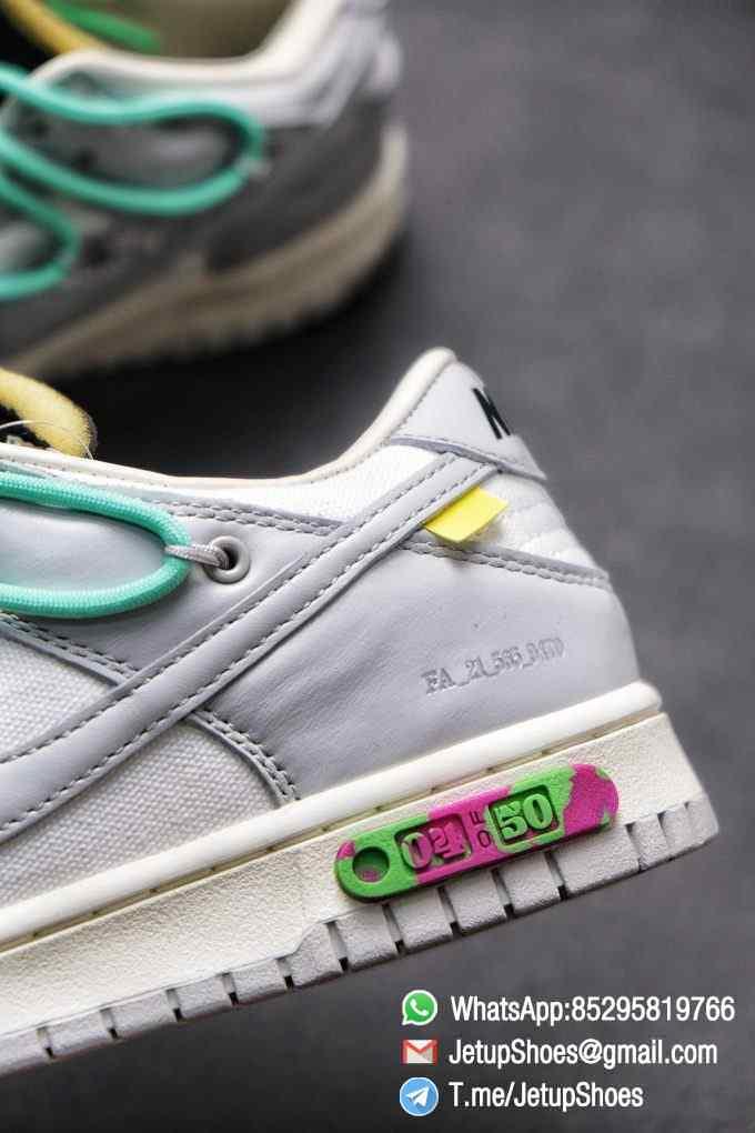 Best Replica Nike Sneakers 0ff White x Nike Dunk Low 04 of 50 SKU DM1602 114 Top RepSneakers Supplier 016
